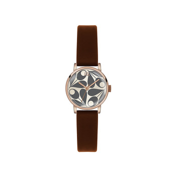 Ladies Patricia Watch - Brown/Gray