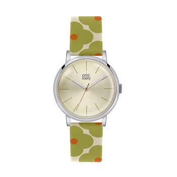 Ladies Patricia Watch - Green/Orange