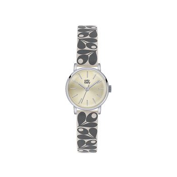 Ladies Patricia Watch - Gray/Silver