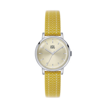 Ladies Patricia Watch - Yellow