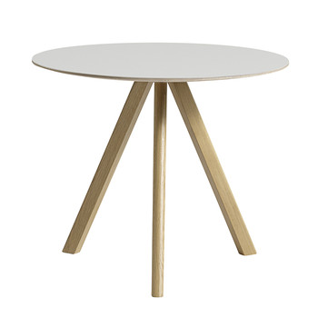 Copenhague Round Table - Linoleum Off-White