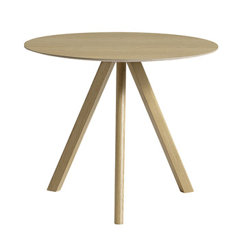 Copenhague Round Table - Oak Matt Lacquer