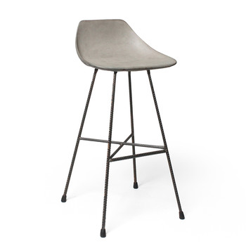 Concrete Hauteville Counter Chair
