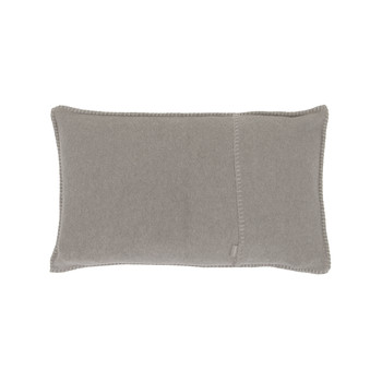 Soft Fleece Bed Pillow - 30x50cm - Light Gray