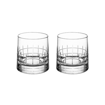 Graphik Double Old-Fashioned Glasses - Set of 2