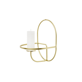 Lup Wall Candle Holder - Round