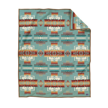 Chief Joseph Blanket - Aqua