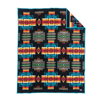 Chief Joseph Blanket - Black