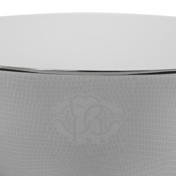 Lizzard Salad Bowl - Platinum