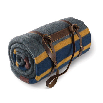Twin Camp Blanket with Carrier - Lake