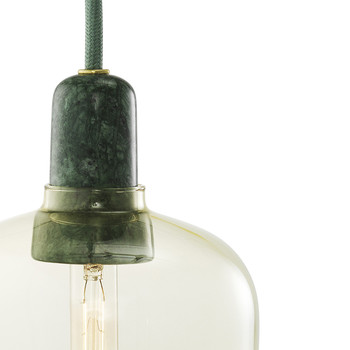 Amp Lamp - Gold/Green
