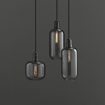 Amp Lamp - Smoke/Black - L