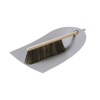 Dustpan & Broom - Light Grey