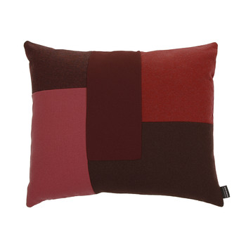 Brick Cushion - 50x60cm - Red