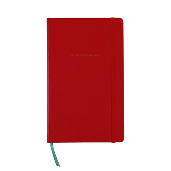 """Paint the Town Red"" Large Notebook"