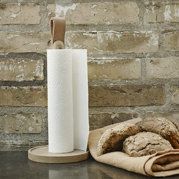 Norr Paper Towel Holder - Oak