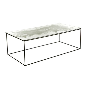 Iridescent Glass Coffee Table