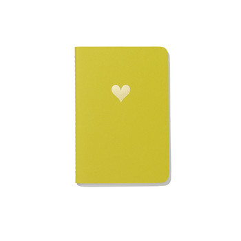 Soft Cover Pocket Notebook - Heart