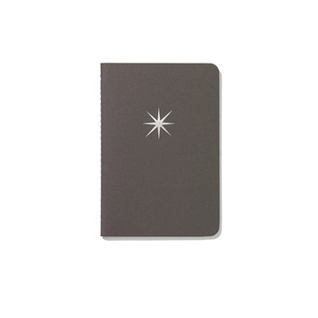 Soft Cover Pocket Notebook - Star