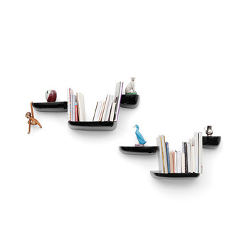 Black Corniche Shelf