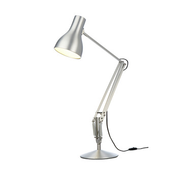 Type 75 Desk Lamp - Brushed Aluminium