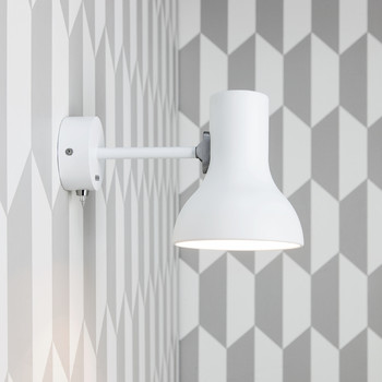 Type 75 Mini Wall Light - Alpine White