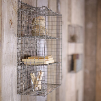 Locker Room Shelf - Distressed Grey