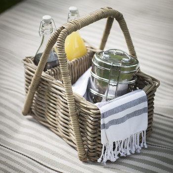 Bembridge Picnic Basket - Rattan