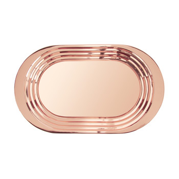Plum Serving Tray - Copper