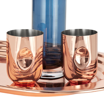 Plum Moscow Mule Copper Mug - Set of 2
