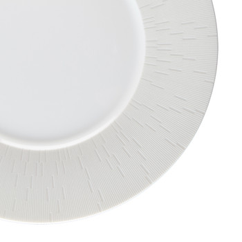 Infini Light Gray Dinner Plate - Large