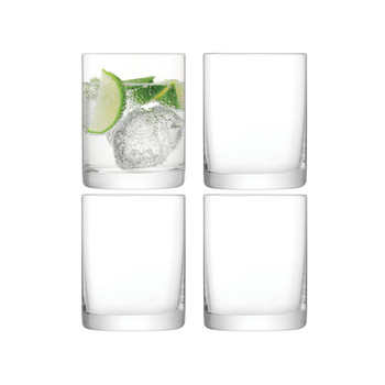 Otis Tumbler - Clear - Set of 4