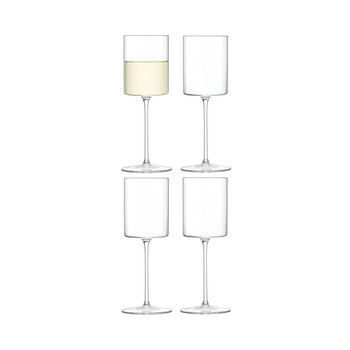 Otis White Wine - Clear - Set of 4