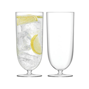 Olivia Highball - Clear - Set of 2