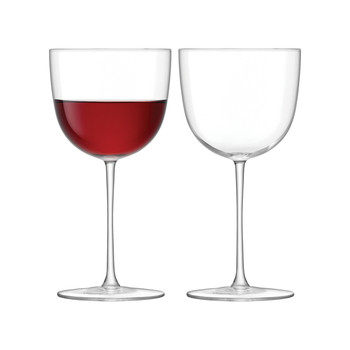 Olivia Red Wine Glass - Clear - Set of 2