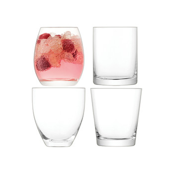 Lulu Clear Tumbler - Set of 4