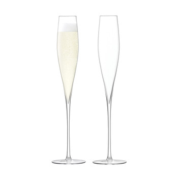 Celebrate Champagne Flute - Set of 2 - Clear