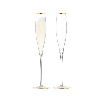 Celebrate Champagne Flute - Set of 2 - Gold