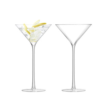 Celebrate Cocktail Glass - Set of 2 - Clear