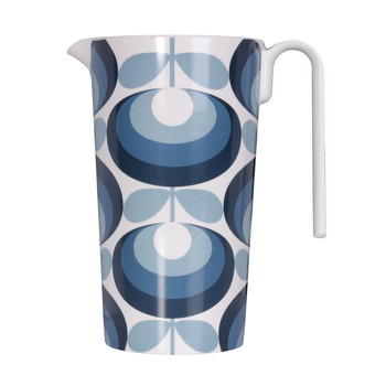 '70s Flower Blue Pitcher