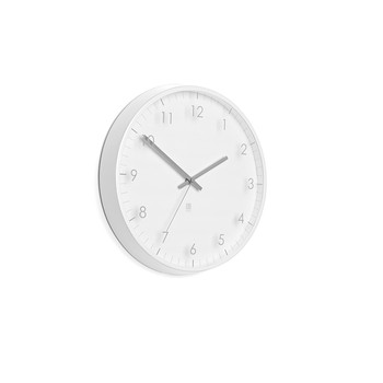 Pace Wall Clock - White