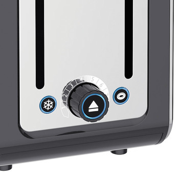 Architect Toaster - Grey - 2 Slot