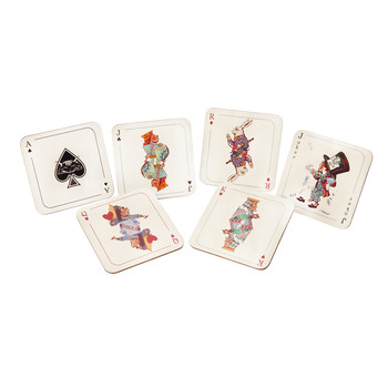 Louise Kirk - Alice in Wonderland Coaster - Ace