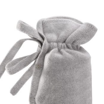 Classic Cashmere Knit Hot Water Bottle - Stone Glitz