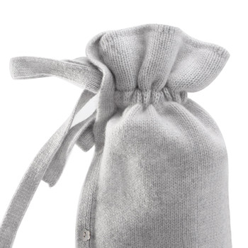 Classic Cashmere Knit Hot Water Bottle - Stone