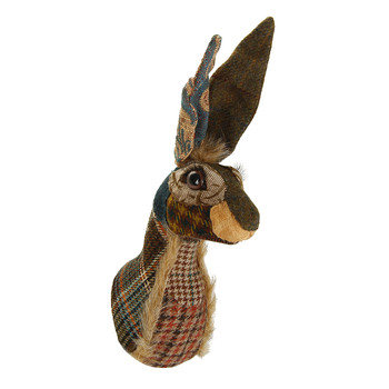 Hattie the Hare Head Wall Hanging