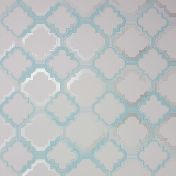 Quatrefoil Wallpaper - W6599-02
