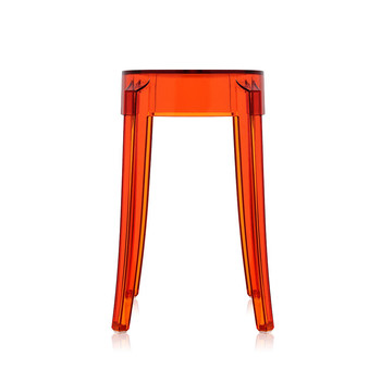 Charles Ghost Stool - Orange
