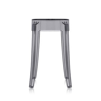 Charles Ghost Stool - Smoke Gray