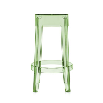 Charles Ghost Stool - Green